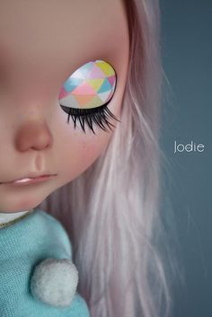by Jodie♥dolls, via Flickr Blythe custom