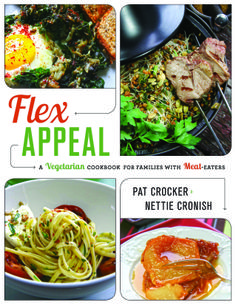 The chopped cookbook by food network kitchen only seeing chicken in flex appeal the vegetarian cookbook for families with meat eaters nettie cronish pat crocker forumfinder Image collections