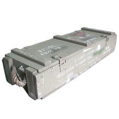 Wooden Ammo Box AB20