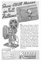 Revere Model 80 Projector 1941 Ad Picture