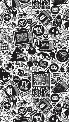 ↑↑TAP AND GET THE FREE APP! For Geeks Art TV Black & White Quotes Stylish Pictures HD iPhone 5 Wallpaper