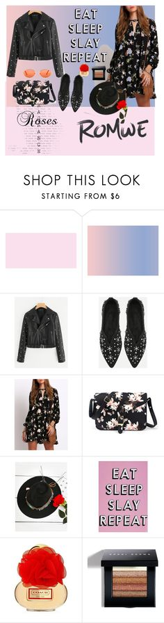 """""""romwe"""" by hztttaoo ❤ liked on Polyvore featuring Missguided and Bobbi Brown Cosmetics"""