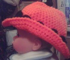Baby Cowboy Hat - free crochet pattern