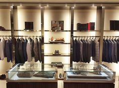 The gentleman's closet | Kiton boutique