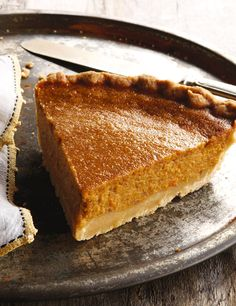 "Sweet Potato Pie - from the ""Back in the Day Bakery Cookbook"""