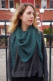 Double Crochet, Single Crochet, Chain Stitch, Shawl, Box, Mini, Pattern, Fabric, Fashion