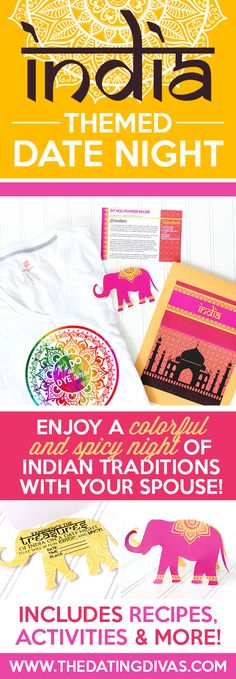 Indian Date Night Ideas including a fun bedroom game!