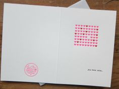 You have my Heart by Larkpress. Source: http://www.etsy.com/listing/121561082/hearts-valentine-letterpress-greeting?ref=listing-shop-header-2