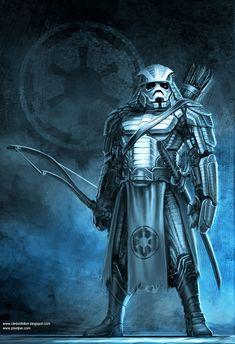 Samurai Storm Trooper Archer by Clinton Felker