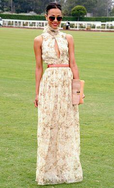 Zoe Saldana's Best Style Moments: July 9, 2011