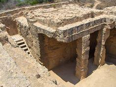 Makronissos Tombs near Agia Napa
