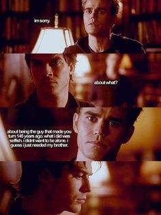 The Vampire Diaries - Stefan and Damon
