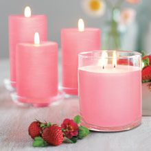 Wild Strawberry,  MMMMMmmmm! Glolite Jars are the world's brightest candle and this fragrance is AMAZING.   Check it out at www.partylite.biz/jenniferholcomb