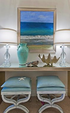 Inspiration for Coastal Living Bay Design Store - Naples, FL. Extra seats are nice for living room