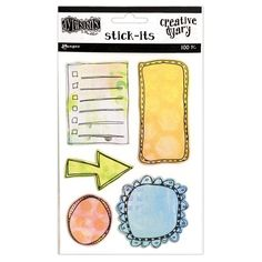 Dylusions Creative Dyary Stick Its by Ranger for Scrapbooks, Cards, & Crafting found at FotoBella.com