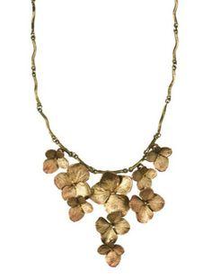 Silver Seasons - Michael Michaud - Hydrangea Necklace