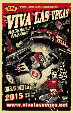 Viva Las Vegas Rockabilly Weekend and Car Show 2015
