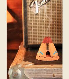 TEEPEE incense burner