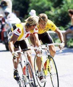 Laurent Fignon, Greg LeMond