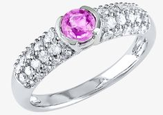 Who said all engagement rings need to feature a white diamond? If you're looking for something fashionable yet out of the ordinary, a color gemstone engagement ring may be the perfect choice. http://www.jewelrywise.com/engagement-wedding/article/should-i-consider-color-gemstones-in-my-engagement-ring | Herbert's Jewelers