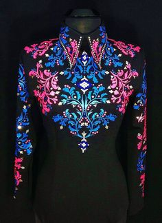 Future Fuschia ~ Horsemanship by Lisa Nelle – Just Peachy Western Show Shirts, Western Show Clothes, Horse Show Clothes, Rodeo Outfits, Western Outfits, Western Wear, Pretty Outfits, Beautiful Outfits, Horse Show Mom