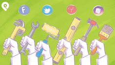 Looking for today's best social media tools? Find out how these 10 social media tools will make you a better marketer in Social Media Automation, Social Media Management Tools, Social Media Analytics, Marketing Automation, Social Media Marketing, Instagram Stats, Instagram Accounts, Create Your Own Image, Social Media Engagement