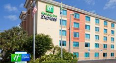 Holiday Inn Express Cruise Airport Fort Lauderdale Located just one block from Port Everglades and 2 miles from Fort Lauderdale-Hollywood International Airport, this Florida hotel offers free 24-hour airport shuttles. Its comfortable guest rooms provide free Wi-Fi.