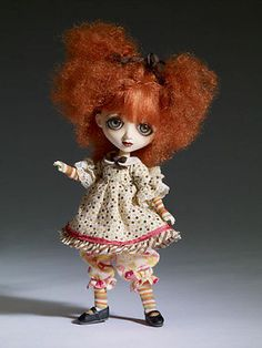 """7 """" Tonner Wilde Imagination BJD Resin Sad Sally 1st Edition Dressed Doll Sold Out 