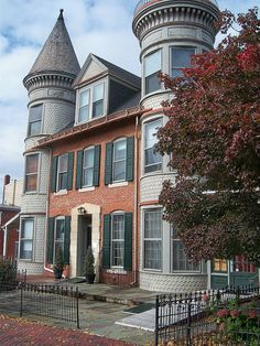 Victorian home, Lebanon, PA by bjebie, via Flickr