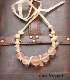 DIY J Crew knock off necklace DIY Jewelry DIY Necklace #diy #crafts