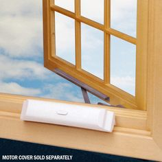 Create remote control #windows! You can wirelessly operate skylights, casement windows, awning windows, and pella windows using the Truth Sentry II Power Window System, available at HomeControls.com.