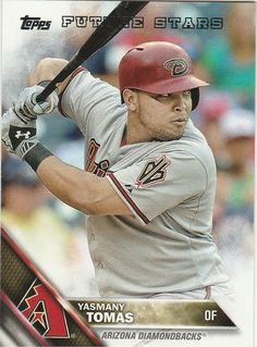 2016 Topps Baseball Series 1 Yasmany Tomas #186 Arizona Diamondbacks  FS  #Topps #ArizonaDiamondbacks