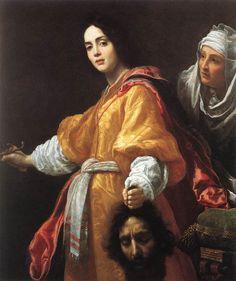 "Cristofano ALLORI, Not ""Artemisia Gentileschi "" ""Giuditta e Oloferne"" 1613 Kensington palace Londres"