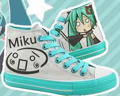 VOCALOID Shoes Custom Hatsune Miku Anime Shoes Custom Sneakers