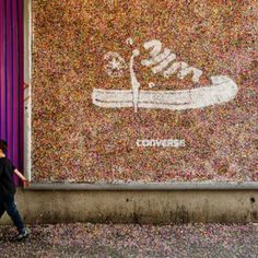 Street marketing Converse #Converse #nosinspira #original