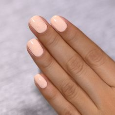 Cottontail - Soft Apricot Speckled Nail Polish by ILNP Trendy Nails, Cute Nails, Simple Gel Nails, Hair And Nails, My Nails, Nail Polish, Butterfly Nail, Gorgeous Nails, Short Nails