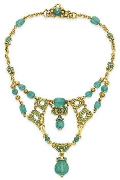 Necklace  1900, Marcus & Co.  Christie's