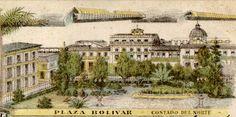 Plaza de Bolivar de Bogotá en 1903