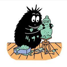 Barbapapa Super Princess Peach, 80 Cartoons, My Childhood Memories, Children's Book Illustration, Vintage Children, Cartoon Characters, Sculpture Art, Childrens Books, Character Design