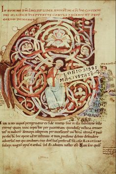 Carolingian Minuscule | Carolingian minuscule: The longer descenders and ascenders are clearly ...