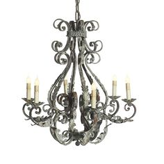 Italian Chandelier by Ella Home Available at Mayer Lighting Showroom www.maylerlighting.com