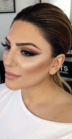 Beautiful bronzed makeup look | thebeautyspotqld.com.au