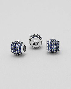 Pandora style sterling silver bead set with crystal glass Wholesale Beads, Pandora, Stud Earrings, Jewels, Sterling Silver, Crystals, Glass, Style, Swag