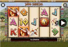 [JUEGOS] Juega gratis ahora a la maquinita tragamonedas de los espartanos (300 Shields)  #slots #casino #juegos