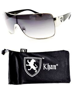 79653b72b Khan Aviator Turbo Sunglasses with Pouch: UV Protection One size Unisex