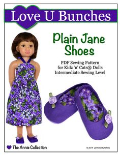 Pixie Packs Josephine Shoe Collection 18 inch doll clothes supply kit | Pixie Faire