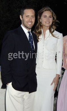 David Lauren and wife Lauren Bush