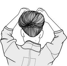 qué tu pelo esté genial justo cuando te marchas a la cama. when your hair looks amazing right before you go to bed.