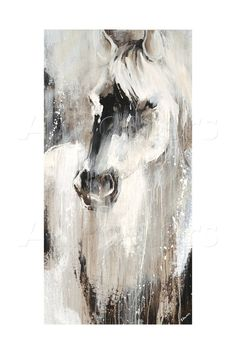 Prairie III Prairie III Johann Faber Phantasie Edmunds captures the mystical beauty of a wild White horse in this gorgeous Contemporary nbsp hellip Painting horse Contemporary Abstract Art, Modern Art, Arte Equina, Horse Artwork, Equine Art, Animal Paintings, Horse Paintings, Framed Art, Wall Art