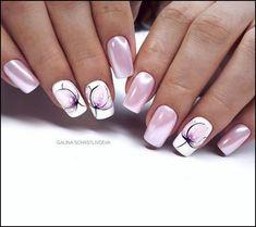 Fall Nail Designs - My Cool Nail Designs Manicure Nail Designs, Fall Nail Designs, Nail Manicure, Nails Design, Manicure Ideas, Cute Nails, Pretty Nails, My Nails, Spring Nails